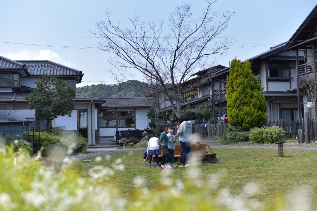 児童養護施設舞鶴学園内の様子